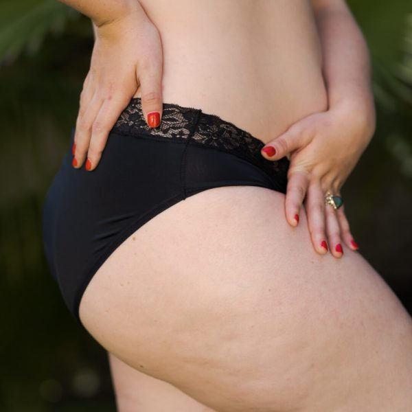 Calzón menstrual bikini rev