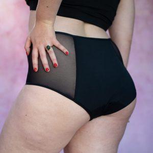 Calzones menstruales rev underwear modelo tiro alto